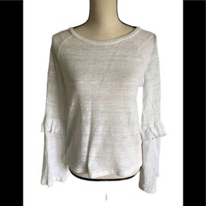 Lucky Brand Soft White Blouse
